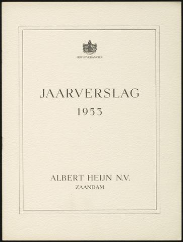 Jaarverslagen 1953