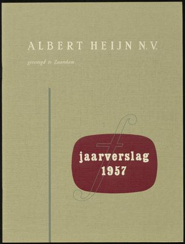 Jaarverslagen 1957