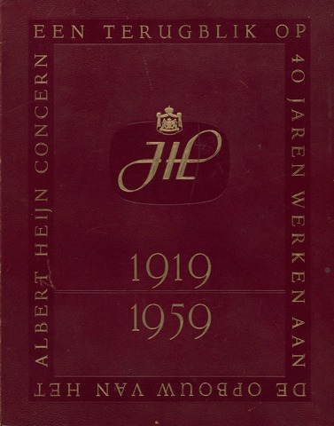 Historische boeken 1919