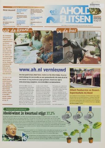 Personeelsbladen 2001-09-01