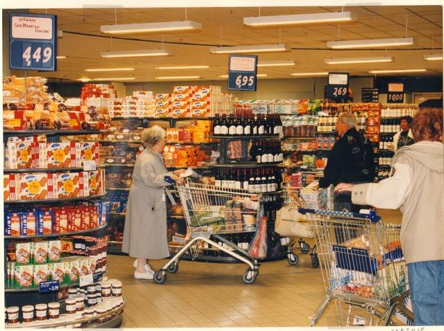 Foto interieur winkel gelderlandplein te amsterdam