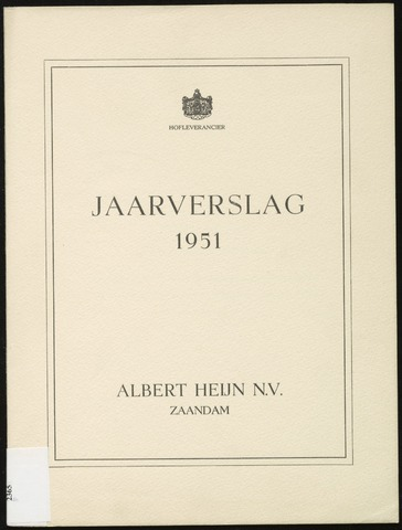 Jaarverslagen 1951