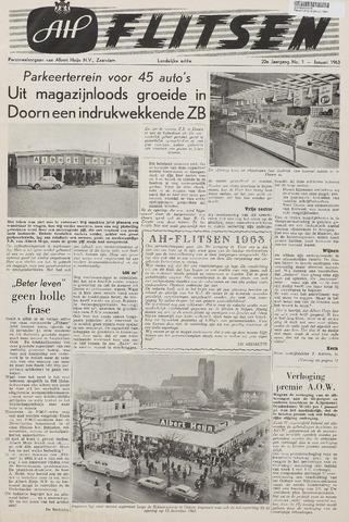 Personeelsbladen 1963