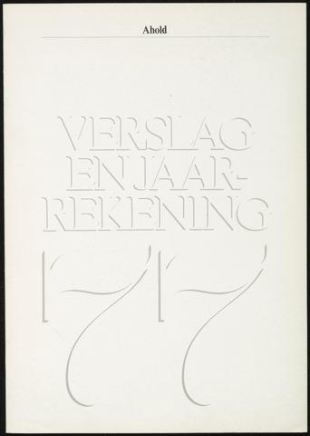 Jaarverslagen 1977-01-01