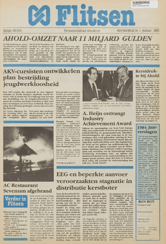 Personeelsbladen 1985