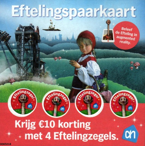 Albert Heijn Efteling Spaarkaart.Spaarkaart Efteling