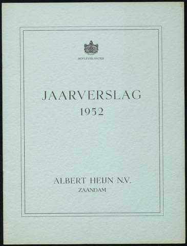 Jaarverslagen 1952-01-01