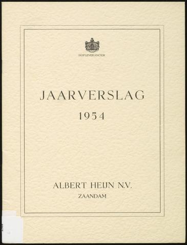 Jaarverslagen 1954-01-01