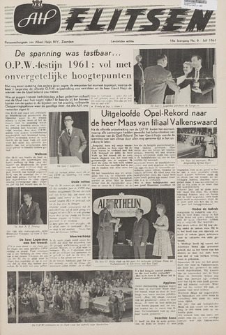 Personeelsbladen 1961-07-01