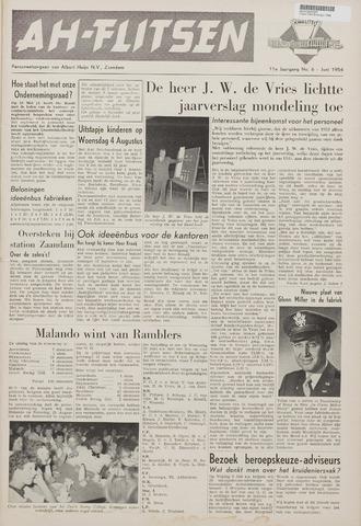 Personeelsbladen 1954-06-01
