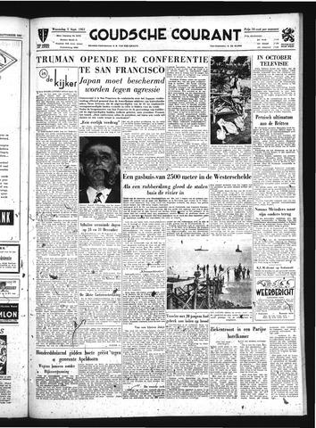 Goudsche Courant 1951-09-05