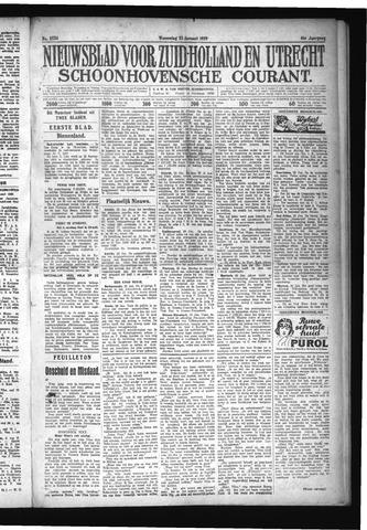Schoonhovensche Courant 1929-01-23