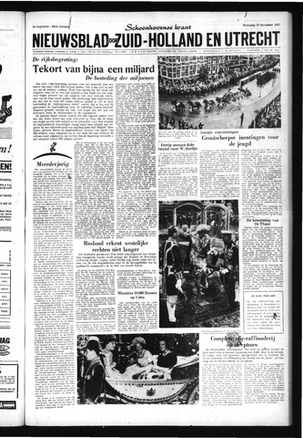 Schoonhovensche Courant 1962-09-19