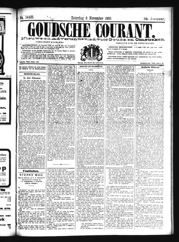Goudsche Courant 1920-11-06
