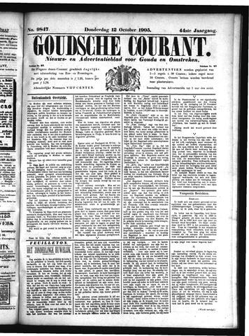 Goudsche Courant 1905-10-12