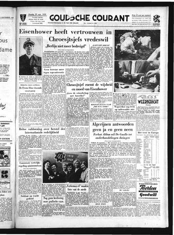 Goudsche Courant 1959-09-29