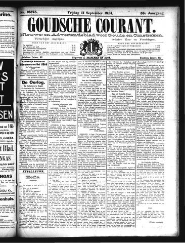 Goudsche Courant 1914-09-11