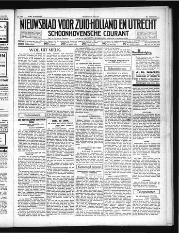 Schoonhovensche Courant 1937-07-12