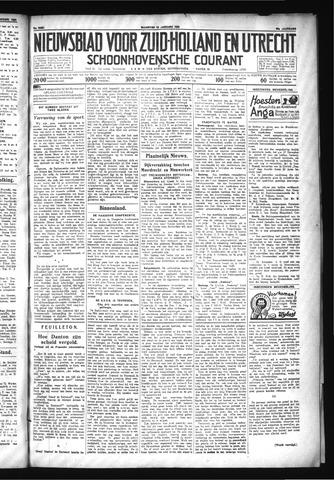 Schoonhovensche Courant 1930-01-13