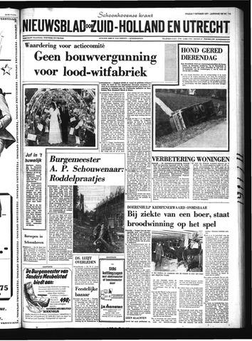 Schoonhovensche Courant 1977-10-07
