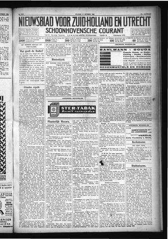 Schoonhovensche Courant 1929-10-11
