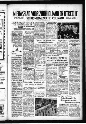 Schoonhovensche Courant 1955-07-13