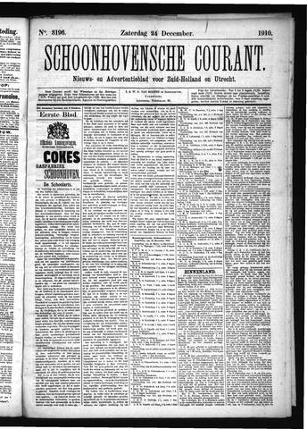 Schoonhovensche Courant 1910-12-24