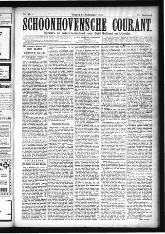 Schoonhovensche Courant 1923-09-14