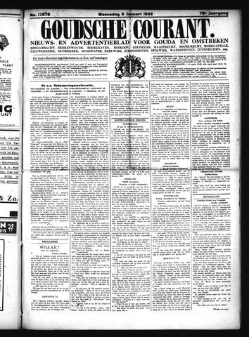 Goudsche Courant 1932-01-06