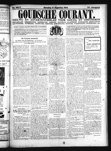 Goudsche Courant 1934-08-14