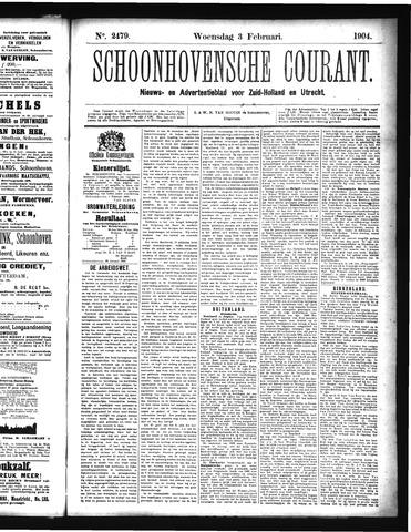 Schoonhovensche Courant 1904-02-03