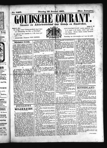 Goudsche Courant 1901-01-22