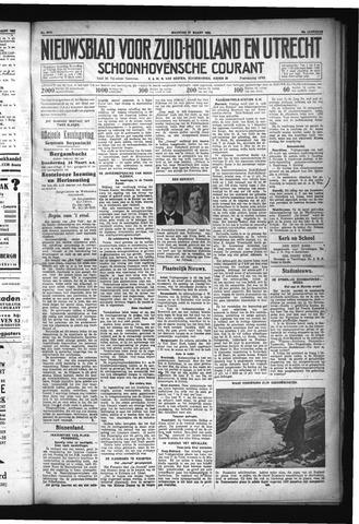 Schoonhovensche Courant 1932-03-21