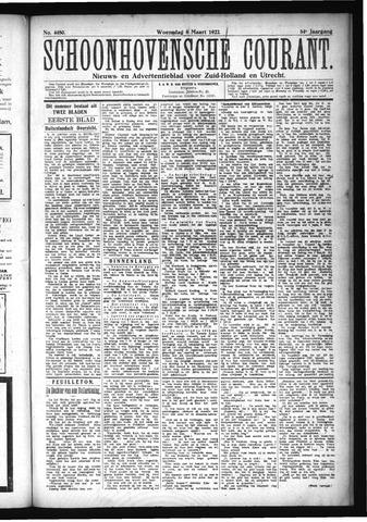 Schoonhovensche Courant 1922-03-08