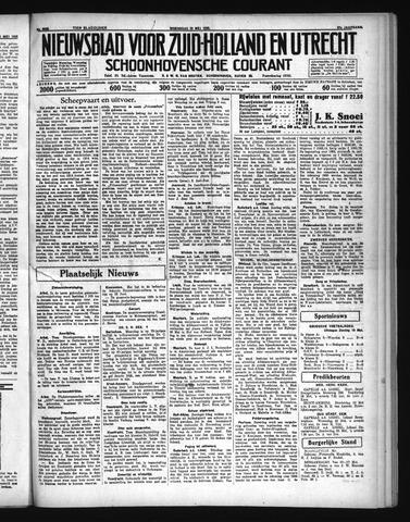 Schoonhovensche Courant 1935-05-22