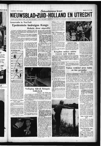 Schoonhovensche Courant 1960-07-25
