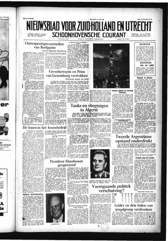 Schoonhovensche Courant 1956-06-11