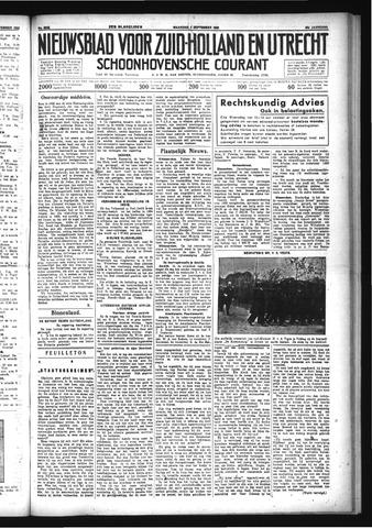 Schoonhovensche Courant 1933-09-04
