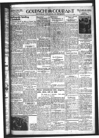Goudsche Courant 1943-09-04