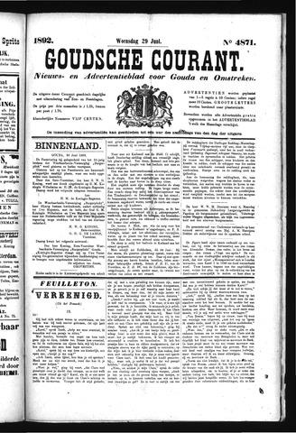 Goudsche Courant 1892-06-29