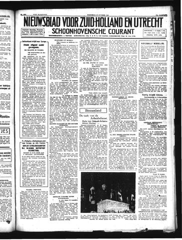 Schoonhovensche Courant 1941-10-15