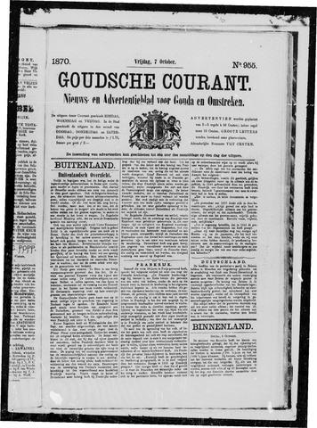Goudsche Courant 1870-10-07