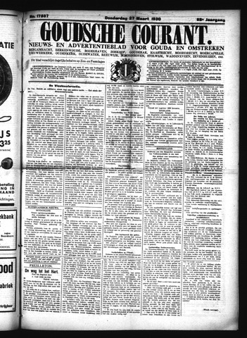 Goudsche Courant 1930-03-27