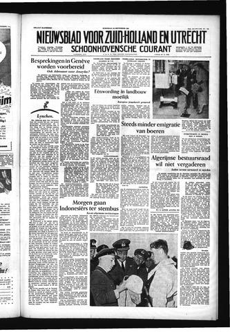 Schoonhovensche Courant 1955-09-28