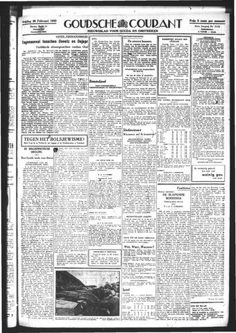 Goudsche Courant 1943-02-26