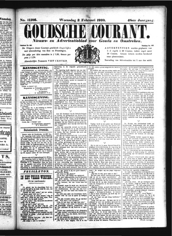 Goudsche Courant 1910-02-02