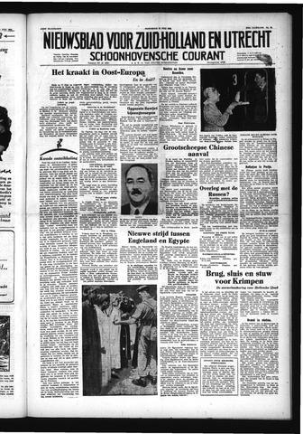 Schoonhovensche Courant 1953-07-15