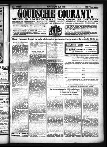 Goudsche Courant 1931-07-11
