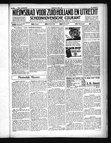 Schoonhovensche Courant 1935-05-08