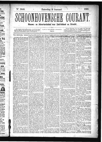 Schoonhovensche Courant 1896-01-11